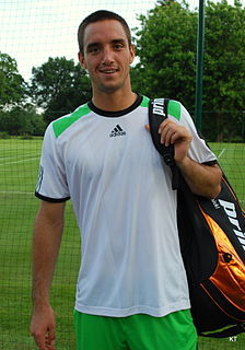 Viktor Troicki Serbian tennis player