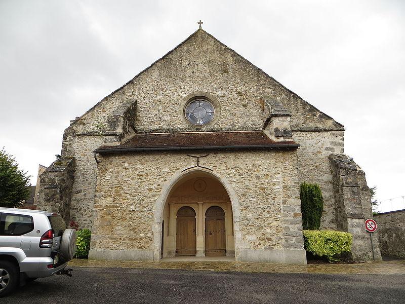 Façade occidentale de l'église