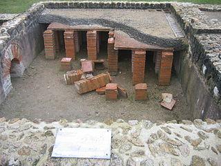 Hypocaust Ancient Roman system of underfloor heating