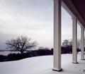 View from the porch of George Washington's Mount Vernon, Virginia home on a winter day LCCN2011635837.tif