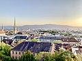 View of Central Zurich from Polyterrase, ETH Zürich (Ank Kumar) 12.jpg