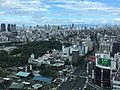 View to the northwest from Abeno Harukas (2).jpg