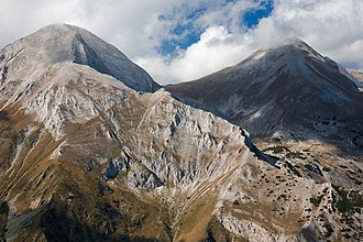 Mountain - Pirin Mountain, Bulgaria, part of the fault-block Rila-Rhodope massif