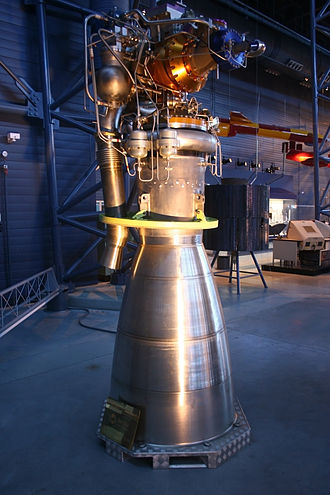 Rocket - Viking 5C rocket engine