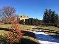 Villa Craven di Seyssel d'Aix - il giardino in inverno.jpg