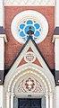 Villach Wilhelm-Hohenheim-Strasse Evangelische Pfarrkirche Portal Supraporte 07092015 7151.jpg