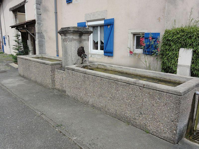 Ville-en-Vermois (M-et-M) fontaine