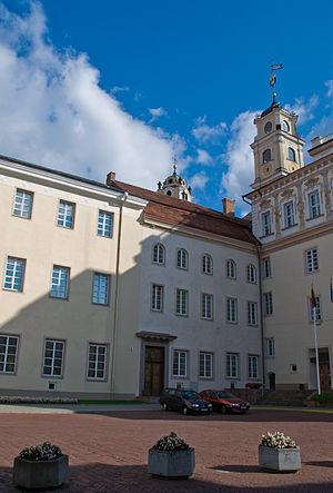 Vilnius University - Vilnius University Library Courtyard