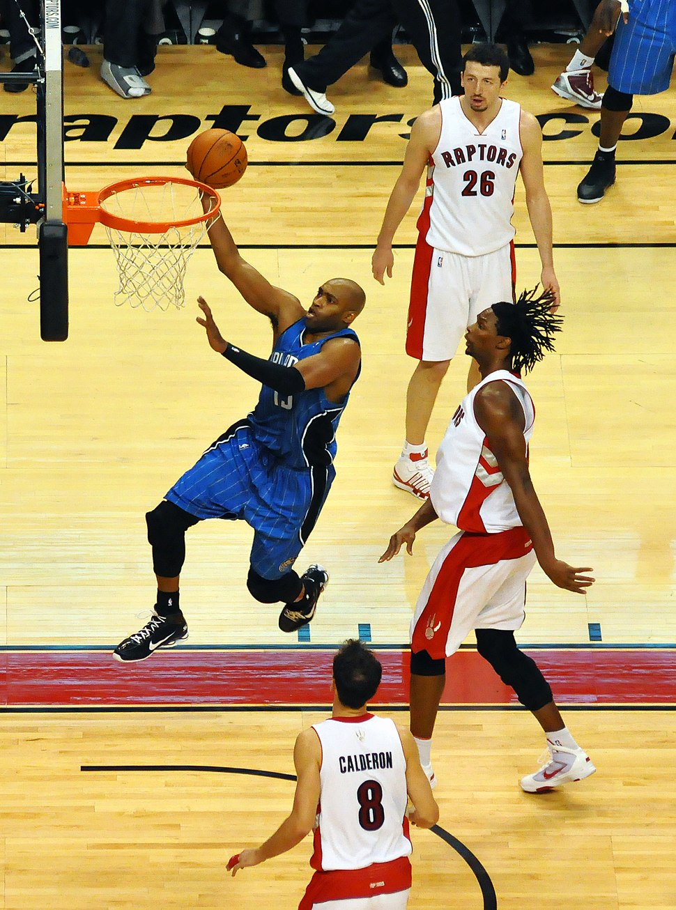 Vince carter magic v raptors