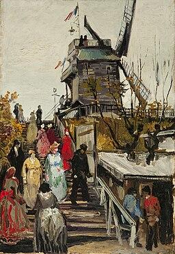 Vincent van Gogh - Le Moulin de blute-fin(1886)