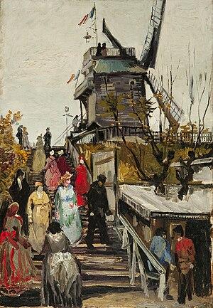 Museum de Fundatie - Image: Vincent van Gogh Le Moulin de blute fin(1886)