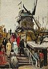 97px Vincent van Gogh   Le Moulin de blute fin%281886%29 Vincent van Gogh in Paris: Montmartre