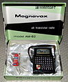 Vintage Magnavox Weekender Transistor Radio, Model AM-62, Made in Japan, Circa 1963 (11936247806).jpg