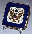 Vintage U.S. Army Souvenir Powder Compact, About 2 Inches Square (9329517467).jpg