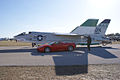 Vought F-8K Crusader 146985 Ferrari F430 Spider LSides TICO 13March2010 (14412879360).jpg