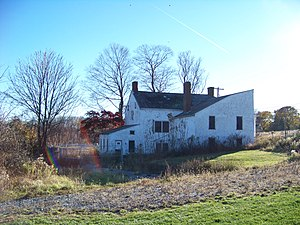 Christoffel Vought Farmstead - Image: Vought House