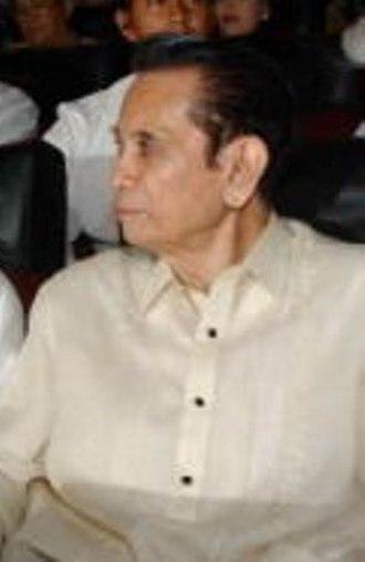 Majority Floor Leader of the Senate of the Philippines - Image: Vp guingona
