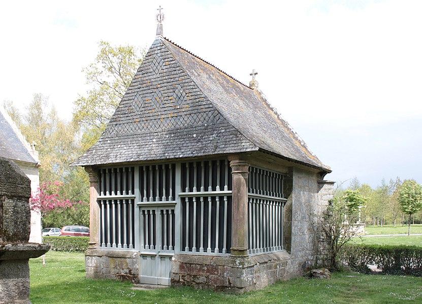 Chapelle Saint-Jean (oratoire de la chapelle Sainte_Noyale), Fr-56-Noyal-Pontivy.