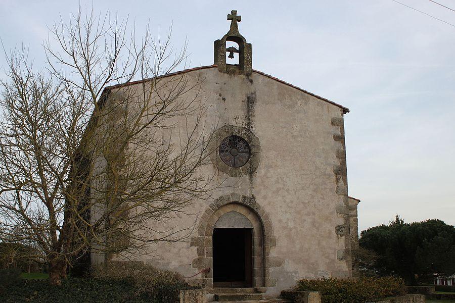 Chapelle Saint-Lazare (XIII°), par Guy de Thouars, ancienne léproserie, Fr-85-Mortagne-sur-Sèvre.
