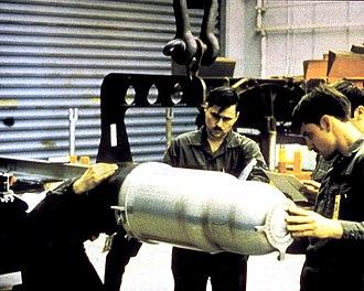 B61 Family - Image: W80 nuclear warhead
