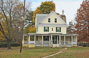 Hatfield Township, Montgomery County, Pennsylvania - Walter and Gertrude May Stewart Homestead
