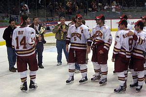 Denver Pioneers, WCHA Champions 2008, WCHA Fin...