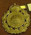 WMP Museum - Dudley Borough Police helmet plate 01.jpg