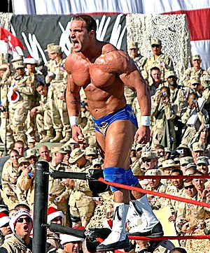 Chris Masters - Masters at the 2005 Tribute to the Troops event.