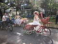 WWOZ 30th Birthday Parade Esplanade Avenue Art Bikes 3.JPG