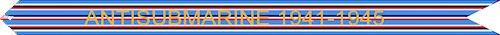 WW II American Campaign (Antisubmarine) Streamer