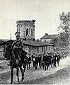 Wach. Świderski prowadzi ochotników do kawalerii, 1915.jpg