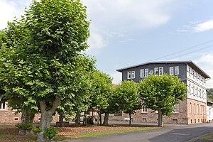 Brachttal - Image: Waechtersbacher Keramik Verwaltungsgebäude 3265