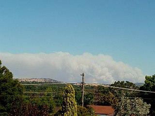 Pulletop Bushfire