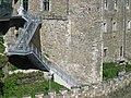 Waidhofen Ybbs.Rothschildschloss.Detail einer Mauer um 1200.JPG