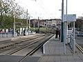 Waiting at Wilkinson Street tram stop - geograph.org.uk - 1601559.jpg