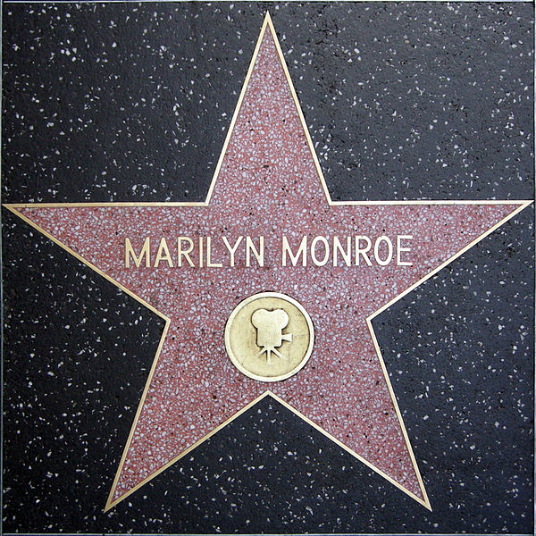 ����:Walk of fame, marilyn monroe.JPG