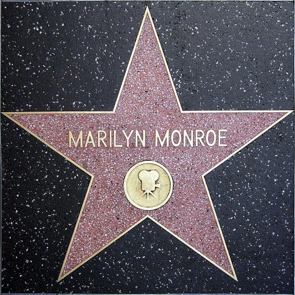 Файл:Walk of fame, marilyn monroe.JPG