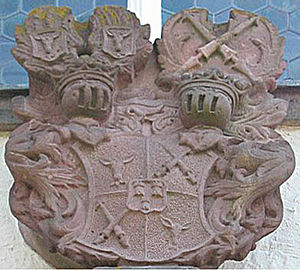 Riedesel - Coat of arms of Riedesel zu Eisenbach