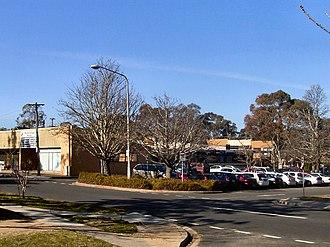 Waramanga, Australian Capital Territory - Waramanga shopping centre