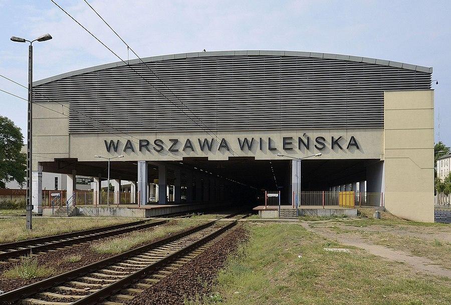 Warszawa Wileńska station