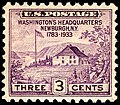 Washington's HQ Newburgh 3c 1933 issue.JPG