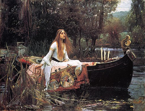 Waterhouse, The Lady of Shallott, 1888
