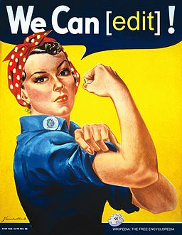Affiche de Rosie the riveter