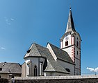Weitensfeld Zammelsberg Pfarrkirche hl Georg NO-Ansicht 19072017 0216.jpg