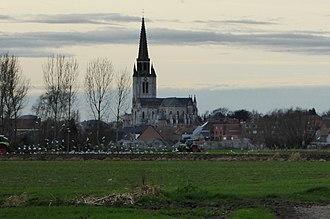 Wervik - Image: Wervicq Sud la Lys River (Fr) (3)