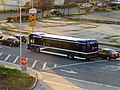 WestCAT route JPX bus on Cutting Boulevard, March 2019.JPG