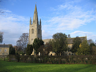 South Kesteven - Parish church of West Deeping