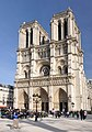 West facade of Notre-Dame de Paris, 15 March 2011.jpg