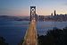 Western Span of the San Francisco-Oakland Bay Bridge at dusk, seen from Yerba Buena Island.jpg