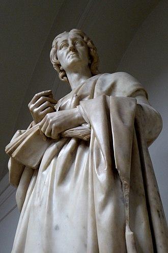 Richard Westmacott - Westmacott's sculpture of John Locke, on display in the University College London main building.